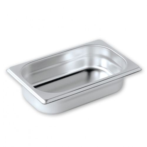 調理盆 1/4  ( 材質304 ) 尺寸 : 265 x 164 x 60mm