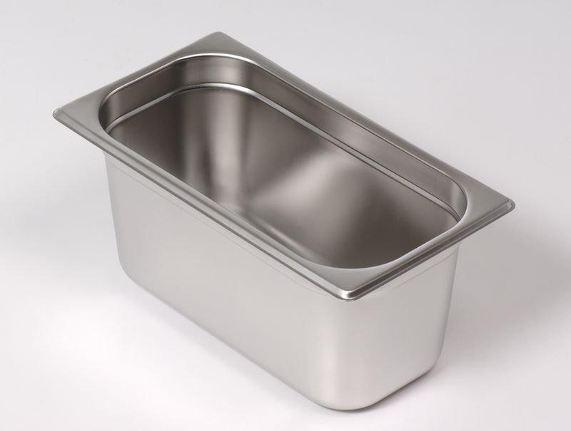 調理盆 1/4  ( 材質304 ) 尺寸 : 265 x 164 x 150mm