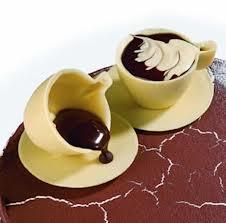 巧克力模: 咖啡杯盤  (直徑80 mm ,可以搭配380255 品號裝飾使用)