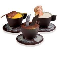 巧克力模:Espresso 咖啡杯  (直徑80 mm,高35mm,可以搭配380254 品號裝飾使用) -- 7杯
