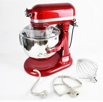 5Qt (4.8公升) 升降式攪拌機 紅色 (家用機型) 透明蓋額外選購  附贈CB217 Professional Baking  專業書籍一本