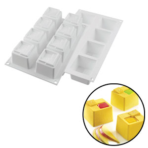 立方塊矽膠模 (Silikomart)