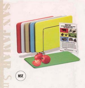 彩色砧板(HACCP 專用砧板) - 單片 廠牌: San Jamar 黃