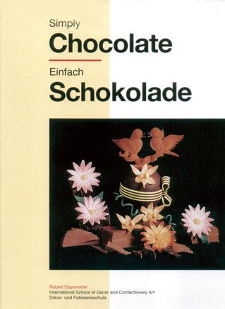 Simply Chocolate     巧克力工藝   (書衣有點瑕疵 特價書)
