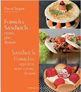Formules Sandwich : entrée, plat, dessert : '10 (法/ 英對照)