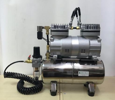 雙缸式小型空氣壓機附儲氣筒