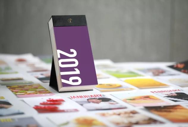 2019 烘焙名廚名點日曆 (樂得)