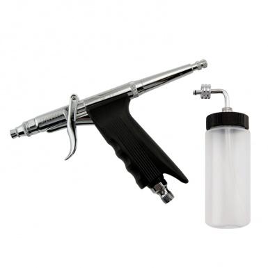 噴筆 (噴嘴口徑: 0.7 mm) 廠牌: Sparmax  / 塑膠容杯 80 c.c