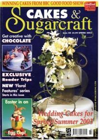 Cakes & Sugarcraft #80  (糖藝與蛋糕)