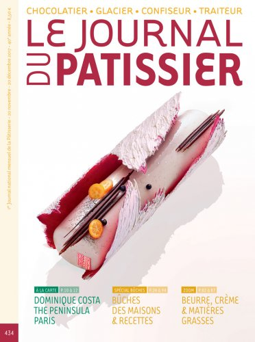 Le Journal du Patissier  1年11期  (2020年) 7700+880郵架費 = 8580