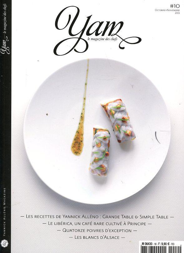 Yam: Le Magazine des Chefs (2019) 一年6期