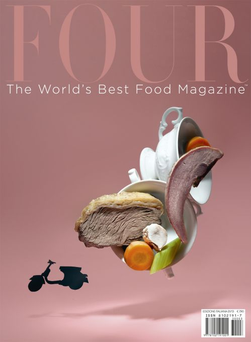 Four-The World's Best Food Magaine (2019) 1年6期  6500+掛號郵寄480 = 6980