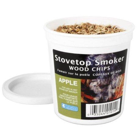 煙燻木屑 - 蘋果木味 (含罐100g)