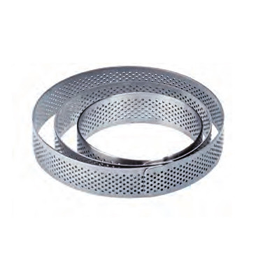 Stainless steel band 網洞塔圈  廠牌: Pavoni / Ø9cm, H2cm  一個模