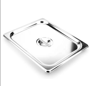 1/2調理盆蓋 ( 材質304 ) 尺寸 : 264x 325   mm   / Super A ( 中國製)