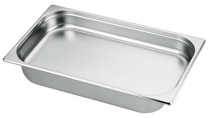 1/1食物調理盆 (SUS304 ) / 尺寸 : 530 x 325  x 65 mm
