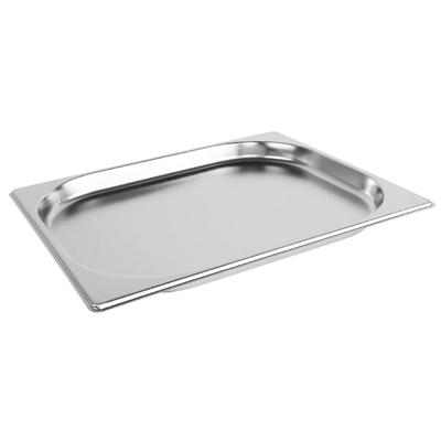 1/2食物調理盆 (SUS304) / 尺寸:325X264X20 mm   / Super A ( 中國製)