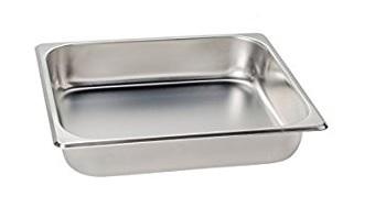 1/2食物調理盆 (SUS304) / 尺寸:325X264X65 mm   / Super A ( 中國製)