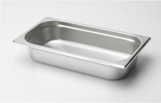 1/3食物調理盆 (SUS304) / 尺寸:325X176X65 mm   / Super A ( 中國製)