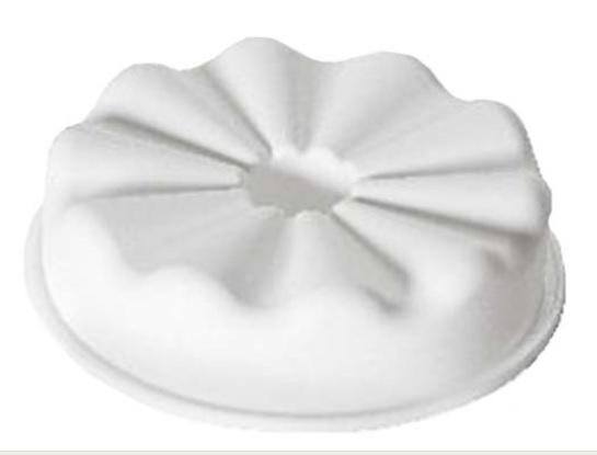 空心波浪模 | 廠牌 Silikomart  28.202.87.0065 | 尺寸: Dim 180 x H50 mm