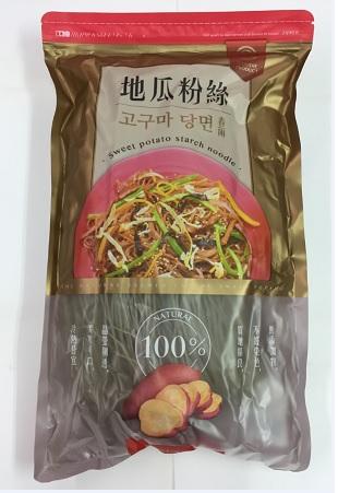 地瓜粉絲 (400 公克) (細)100% 純地瓜粉製造 / 基本訂量6包