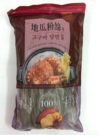 地瓜粉絲 (寬) (400 公克) 100% 純地瓜粉製造 / 基本訂量6包