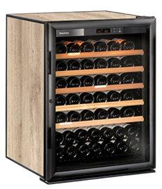 紅酒櫃 (82瓶) - ( 品牌: 法國 EuroCave )  單溫控制 (玻璃門)